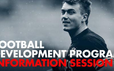 Join us: Football Development Info Session